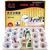 Kays Schröpfen Set Chinesische Schröpfen Therapie-Set, 24 Vakuum-Luft-Saugnäpfe Mit Pumpen Griff, Schröpfen Set... preisvergleich bei billige-tabletten.eu