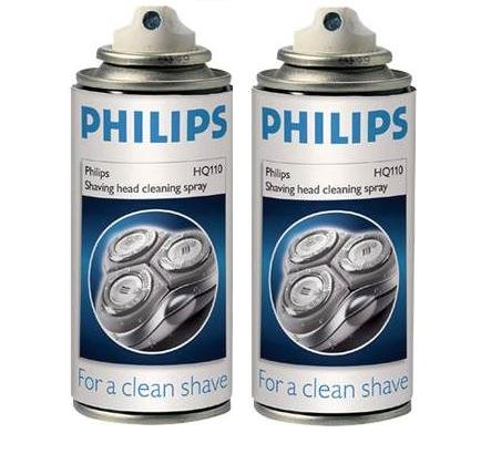 philips-norelco-shaver-cleaner-and-lubricant-spray-2-cans-by-philips