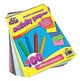 Artbox - Confezione da 100 fogli di carta colorata, A4, colori assortiti
