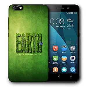 Snoogg Final 1920 Designer Protective Phone Back Case Cover For Huawei Honor 4X