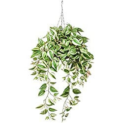 Emerald Kunstpflanze Dreimasterblume Hängend 70 cm 420846