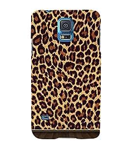 Cheetah Skin Pattern 3D Hard Polycarbonate Designer Back Case Cover for Samsung Galaxy S5 G900i :: Samsung Galaxy S5 i9600 :: Samsung Galaxy S5 G900F