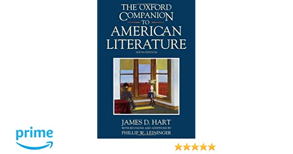 The Oxford Companion to American Literature 6/e (Oxford