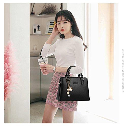 Borse da telaio Yoome per le donne in vendita Borse eleganti in borsa in pelle in pelle per le donne - rosa Grigio