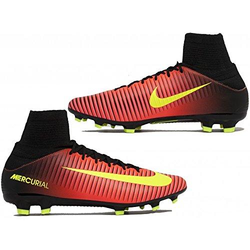 Nike Herren Mercurial Veloce Iii Df Ag-Pro Fußballschuhe Naranja (Total Crimson / Vlt-Blk-Pnk Blst)