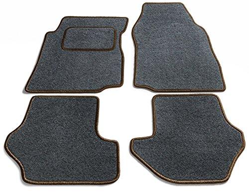 Preisvergleich Produktbild JediMats 90060L-Pre-Dunkelbr-Schi Prestige Maßgeschneiderte Fußmatte für Ihr Auto, Schiefer