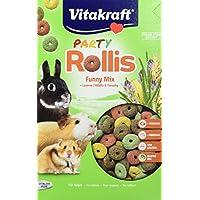 Vitakraft Rollis Party Friandises pour rongeurs 500 g Lot de 7