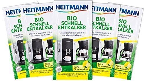 Heitmann 3362 Bio Schnell-Entkalker 10 x 25 g