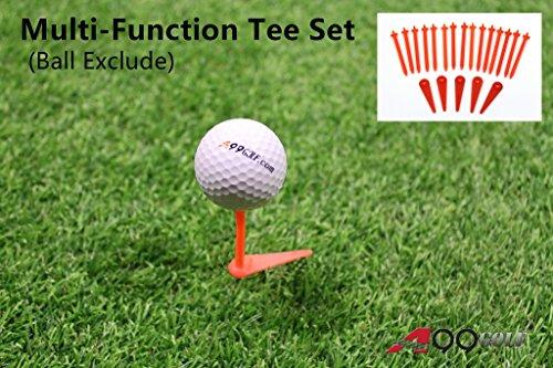 spicybuys verstellbar Multifunktions-Tees Set–keine Reibung, W/Richtung (Golf-tees-adjustable)