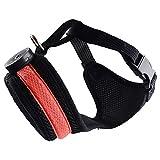 YAJAN-Dog Harness Hundegeschirr,atmungsaktiv Brustgeschirr,LED Hundegürtel,Reflektierender Hundegürtel aus Leinen,Frontclip-Haustierwestengurt,Outdoor-Abenteuertraining,Gurtzeuggriff