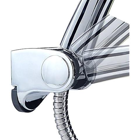 Artbath Soporte de ducha Cromado Ángulo ajustable Soporte de Alcachofa para Ducha
