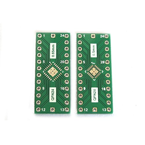 2qfn240,65mm 0,5mm bis 2,54mm DIP Adapter PCB Board Converter IC Test (Ic-adapter)
