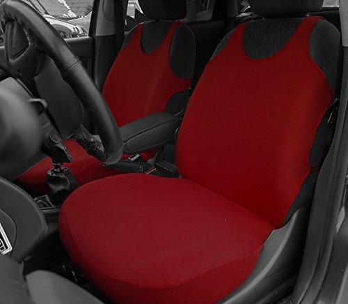 POK-TER-TUNING Autositzbezüge - Passend für Caddy. Design T-Shirt. Set 1+1. in Diesem Angebot Dunkelrot. in 8 Farben Bei Anderen Angeboten erhältlich.