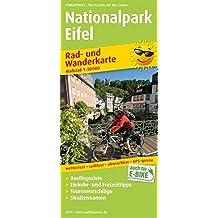 Nationalpark Eifel: Rad- und Wanderkarte mit Ausflugszielen, Einkehr- & Freizeittipps, Straßennamen, wetterfest, reissfest, abwischbar, GPS-genau. 1:50000 (Rad- und Wanderkarte / RuWK)