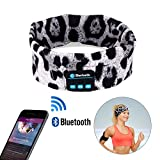 Wireless Bluetooth Headband, WU-MINGLU Wireless Bluetooth Sleep Music Headphones Headset Sports Headband
