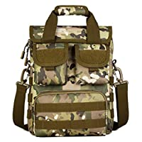 LouiseEvel215 Large Size Women Men Military Tactical Bags Pack Molle Outdoor Shoulder Strap Bag Pouch Travel Backpack Military Bag Handbag