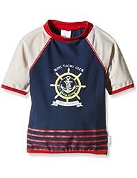 T-Shirt Maillot Anti-UV - Enfant - Garçon - Yatch Club - Little Scherrer pour JEAN LOUIS SCHERRER