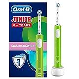 Oral-B Junior Wiederaufladbare Elektrische Zahnbürste, ab 6 Jahren, grün