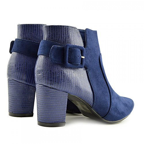 Kick Footwear Chelsea Boots, Stivali donna Royal Blue