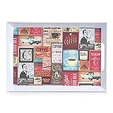 Zeller 26636 Melamintablett Retro Melamin dekor 50 x 35 x 5 cm