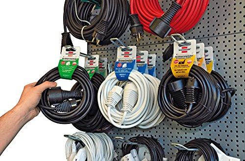 Brennenstuhl Qualitäts-Kunststoff-Verlängerungskabel 3m weiß, 1168430