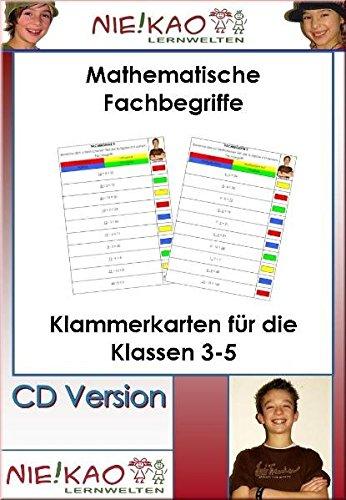Mathematische Fachbegriffe - Üben und Automatisieren: CD - Version