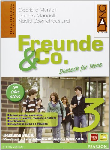 Freunde & Co. Kursbuch-Arbeitsbuch-Activebook-Schulbatt. Per la Scuola media. Con CD Audio: 3