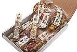 Surprise Box – Set di 11 pezzi più Snack e delicatezza per tutti i roditori e coniglio. Più di 750gr di alta qualità dieta.
