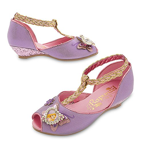 Disney Store Deluxe Rapunzel Costume Shoes Heels for Girls Size 9-10 M US - Deluxe Rapunzel Kostüm