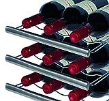 CASO WineDuett Touch 12 Design Weinkühlschrank für bis zu 12 Flaschen (bis zu 310 mm Höhe), zwei Temperaturzonen 7-18°C - 4