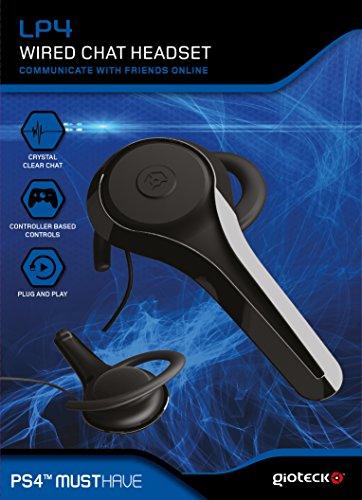 Gioteck LP4 Micro Casque avec fil pour PS4
