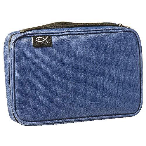Bibel-Tasche, 24x15x4,5cm, blau (Und Tragetaschen Bibel-taschen)
