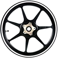 White 12 to 15 inch Motorcycle, Scooter, Car & Truck Wheel Rim Stripes 5/16 inch or 8mm wide