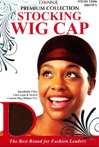 2330ce4ca43 100 Value-Pack Premium-Collection Wig Caps (Multi-Pack) by Donna