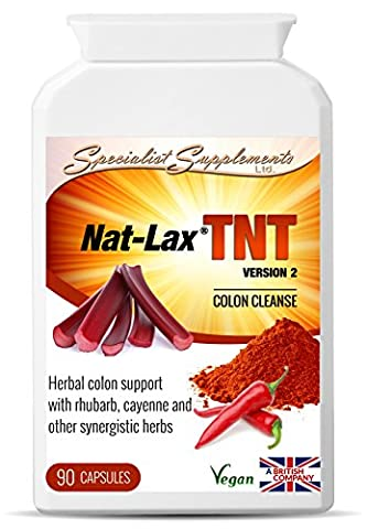 Nat-Lax TNT: fast colon cleanser (90 VegiCaps)