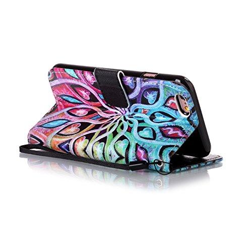 Mit Apple Hülle Handyhülle echt Für 6 7 Iphone Staubstecker Bookstyle Tasche 4ii Standfunktion Magnet Smartphone Flip 4 Leder Zoll Kartenfächer Cover 0qqw5ZFx