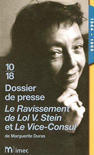 Dossier de presse Le ravissement de Lol V Stein et...