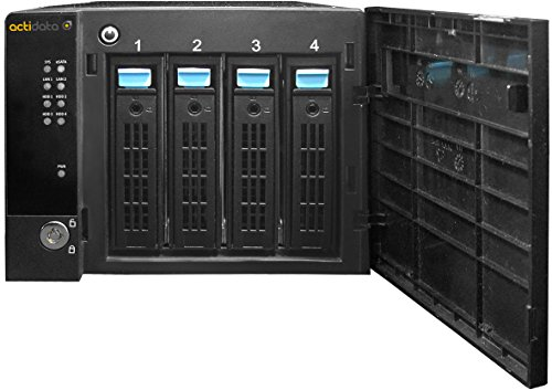 Actidata actiNAS Cube Mini 4 Ethernet Torre Negro