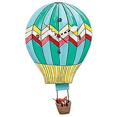 Idea Regalo - Enesco P1504 Orologio Mongolfiera, Multicolore