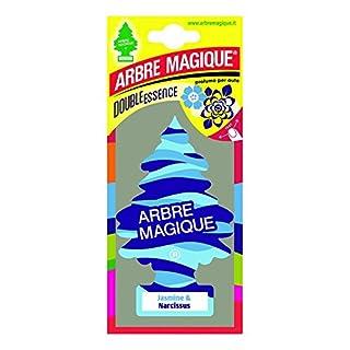 Abremagique 1710547 Lufterfrischer Wunderbaum Jasmine & Narcissus Blue