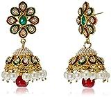 Jewel House Gold Plated Jhumki Earrings ...