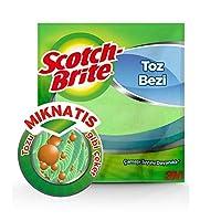 Scotch-Brite 2080031 Mikrofiber Toz Bezi, 2'li
