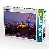 Schloss in Wernigerode 1000 Teile Puzzle quer: Das Schloss in Wernigerode an einem Winterabend (CALVENDO Orte)