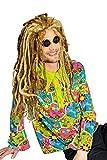 Karneval-Klamotten Hippie Hemd Kostüm Herren Flower-Power Kostüm Peace Hemd 60er 70er Jahre Kostüm Karneval Herren-kostüm Größe 50/52
