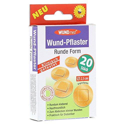 Preisvergleich Produktbild WUND PFLASTER RUND 2.5CM,  20 St