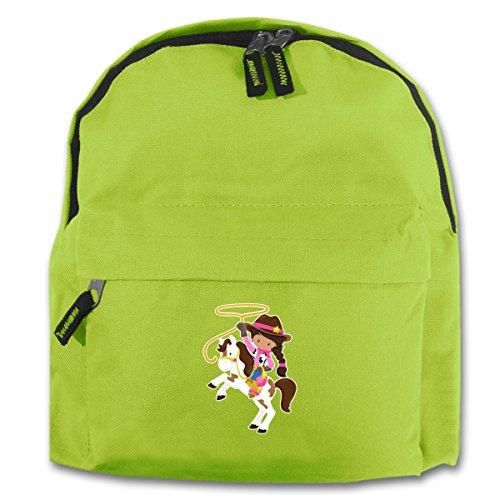 ck Cowgirl Lasso für Schule und Freizeit Sol's Sol's Kids Rucksack Rider 25x30x12cm apfelgrün (Cowgirl Rucksäcke)