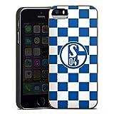 DeinDesign Holz Hülle kompatibel mit Apple iPhone 5 Wooden Case Echtholz Handyhülle FC Schalke 04 Offizielles Lizenzprodukt Fußball