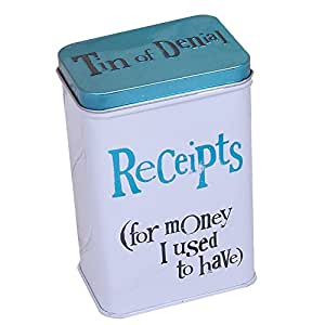 Bright Side Receipts Tin - For Money I Used To Have