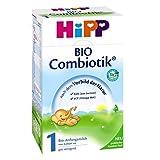 Hipp Bio Combiotik 1 Anfangsmilch - von Geburt an, 12er Pack (12 x 600g)