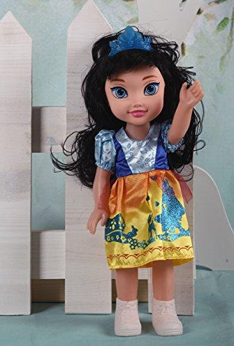 Schneewittchen Prinzessinnen Puppe mit Puppenkleidung, 35 cm thumbnail